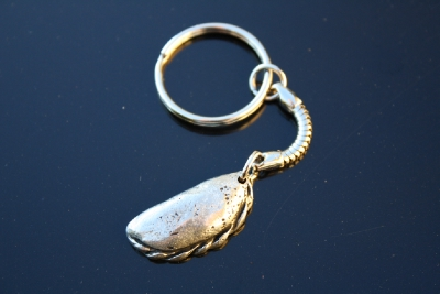 G02 CORNISH PASTY KEYRING